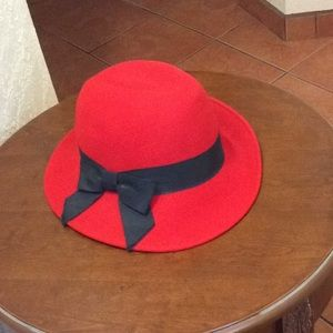 Accessories - Red  hat Vintage Inspired Hat